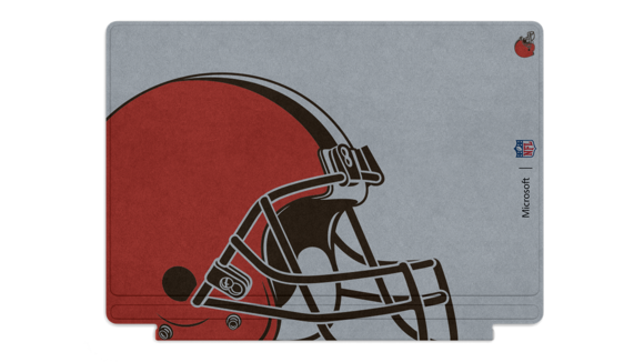 mssurface typecover clevelandbrowns packaging