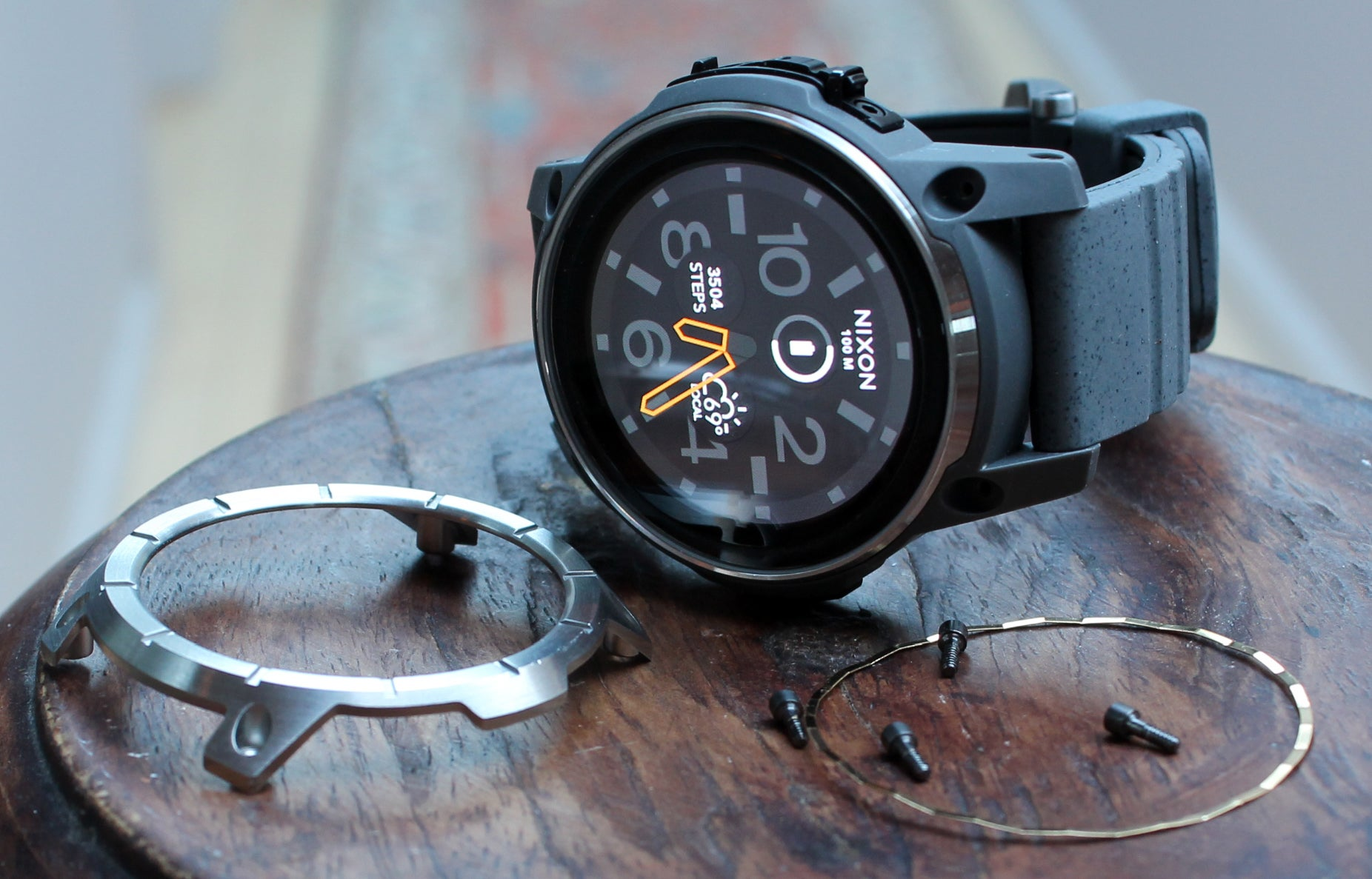790bbbacabd Nixon Mission review  A hardcore Android Wear watch for surf and ...