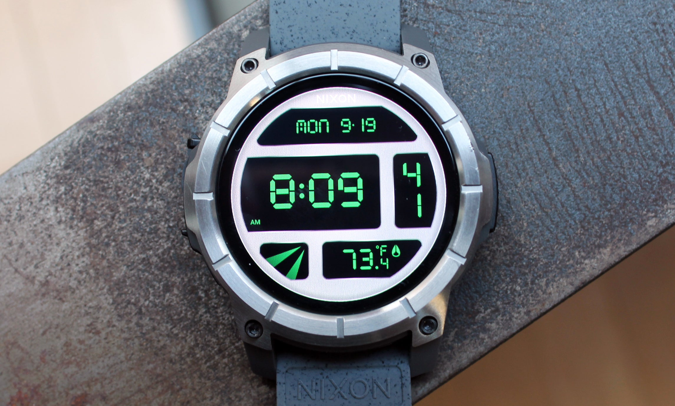 Nixon Mission Review A Hardcore Android Wear Watch For Surf And Snow Greenbot
