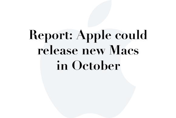 oct new macs