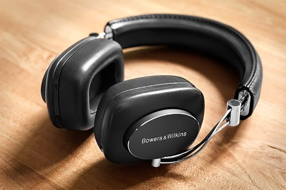 The B&W P7 Wireless headphones.