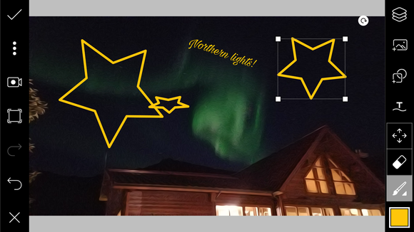 picsart northern lights