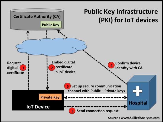 PKI, digital certificates, certificate authority, SkilledAnalysts, Public Key