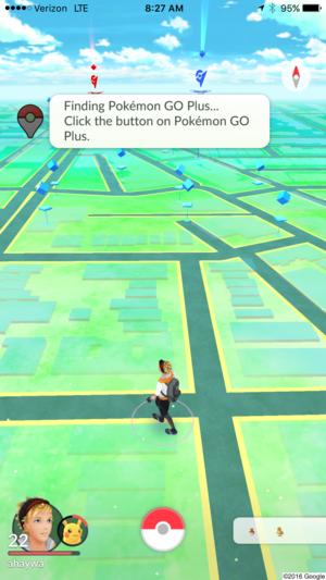 pokemon go plus pairing