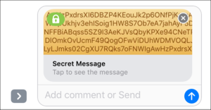 privatei cipher imessage