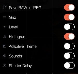 raw apps manual interface