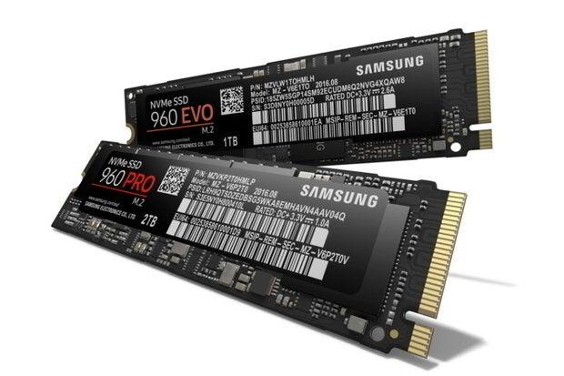 samsung nvmessd 960pro 960evo SSDs