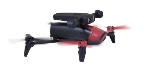 Parrot's S.L.A.M.dunk drone development kit in action