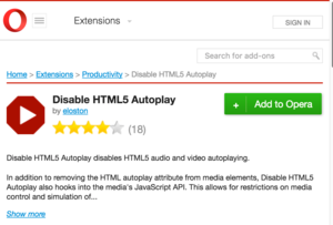 stop html5 autoplay videos in chrome, firefox, opera (but
