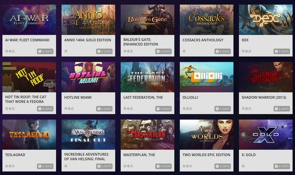 GOG Connect offers more no-cost, DRM-free copies of Steam