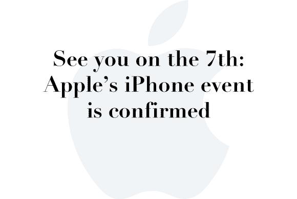 sep 7 iphone event