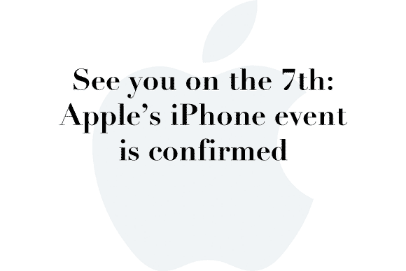 sep 7 iphone event