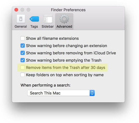 sierra finder pref trash gm