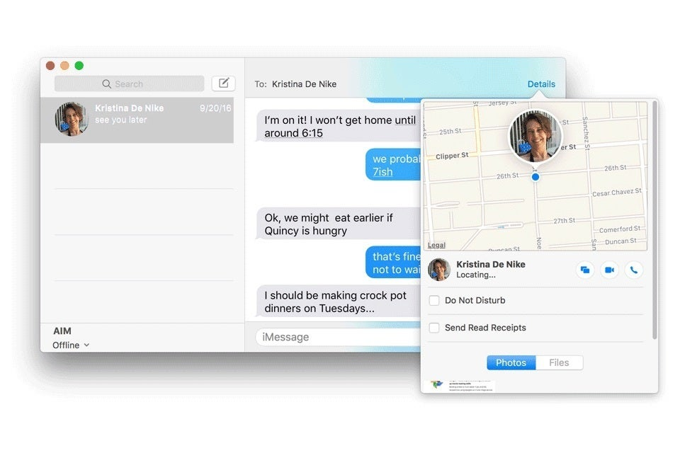 How to turn on/off read receipts in macOS Sierra's Messages | Macworld
