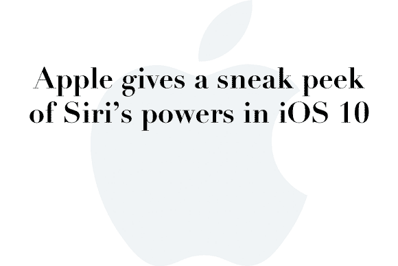 siri ios10 sneak peek