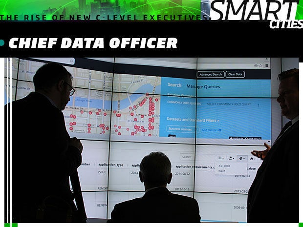 smart city Chief Data Officer