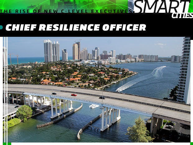 smart city Chief Resilience Officer
