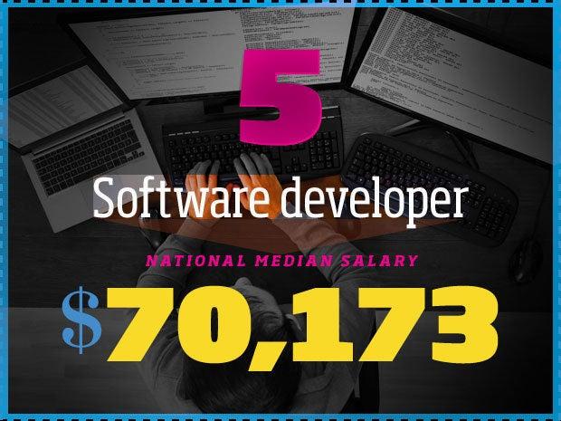 5. Software developer