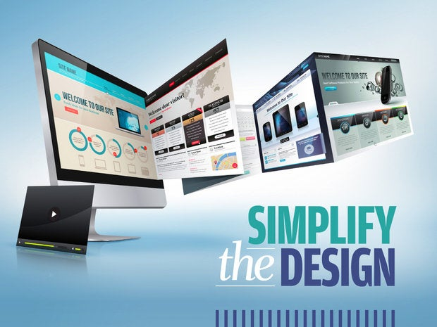 Slideshow: Boost Your Website's Loading Speed - [2] Simplify the design