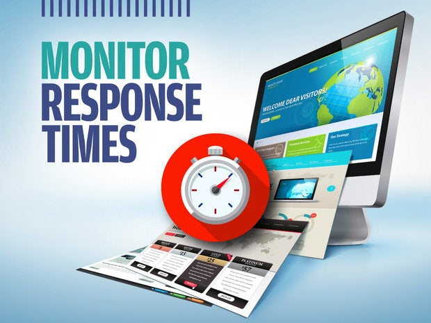 Slideshow: Boost Your Website's Loading Speed - [6] Monitor response times