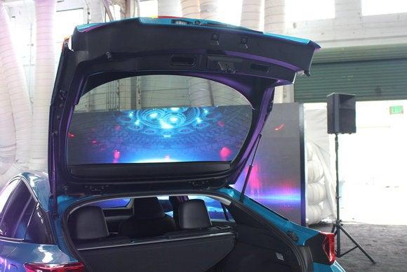 toyota prius prime sept 2016 carbon fiber hatch
