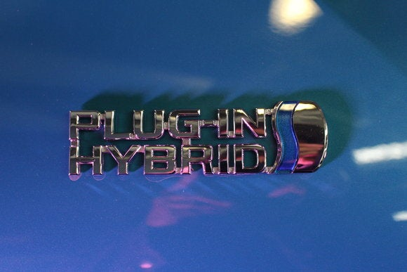 toyota prius prime sept 2016 plug in hybrid badge