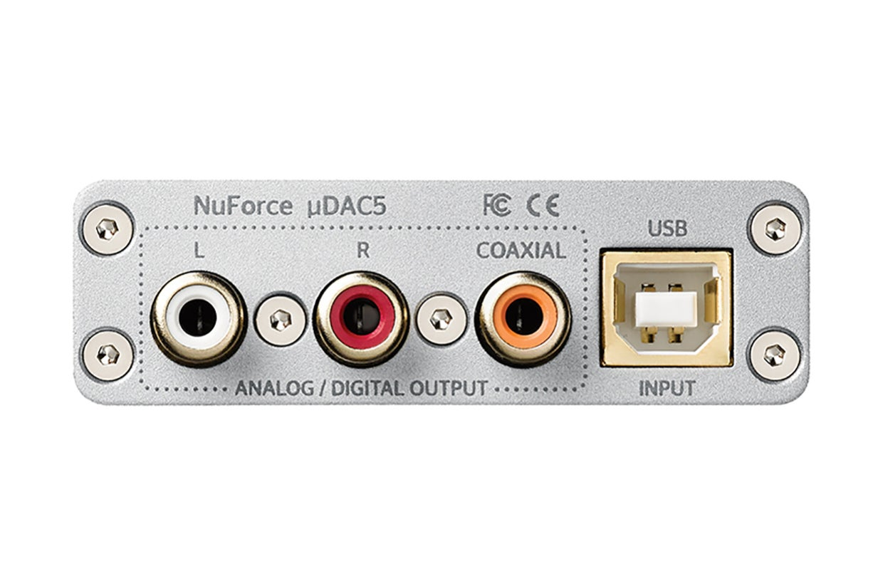 Optoma NuForce uDAC5 USB DSD DAC review: This little box