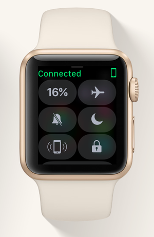 watchos3 control center