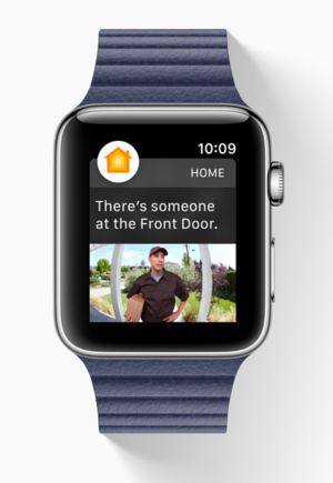 watchos3 home homekit
