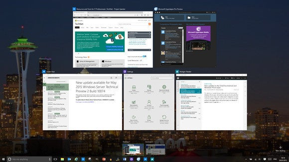 windows 10 virtual desktops task view