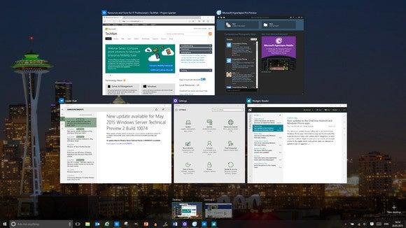 windows 10 virtual desktops task view