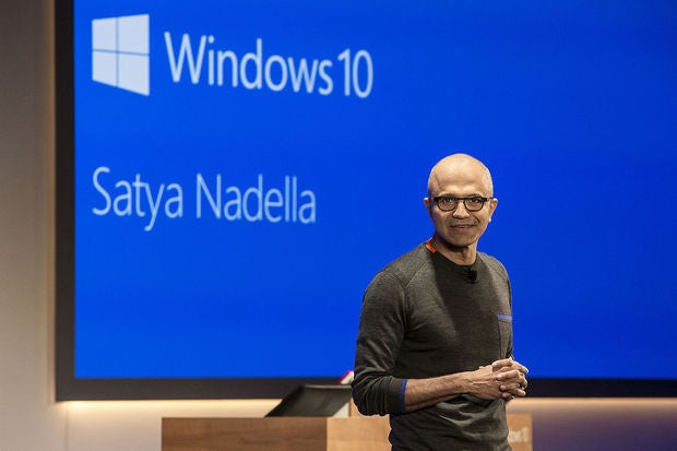 Satya Nadella's comp package slips 3% to $17.7 million