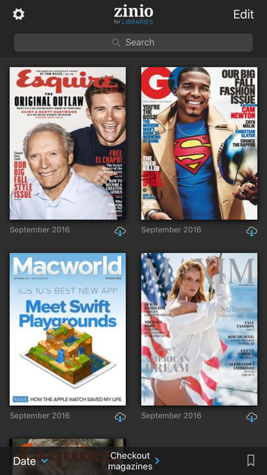zinio magazines for libraries ios