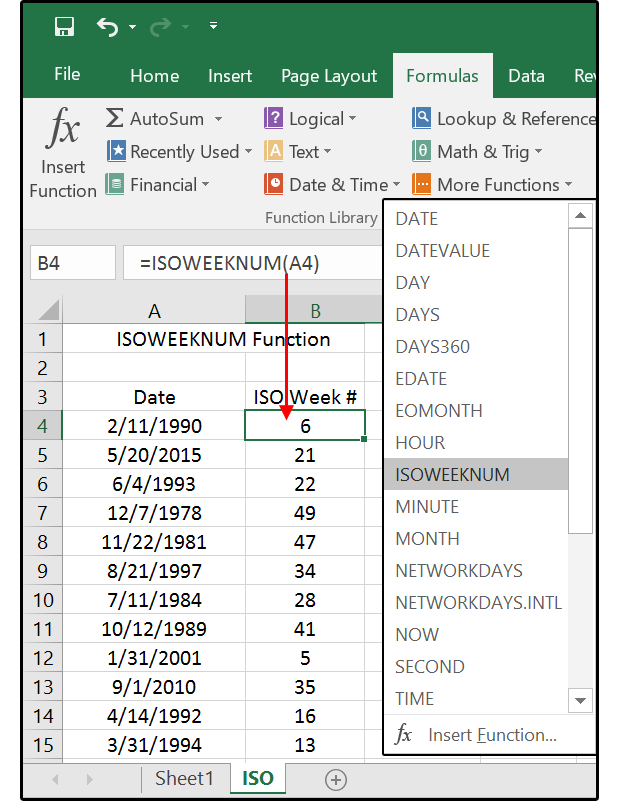 Date function excel in Sydney