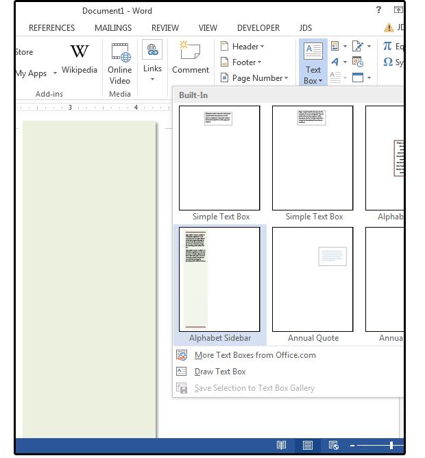 04 create a text box inside the rectangle shape