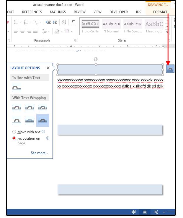 08 define layout options