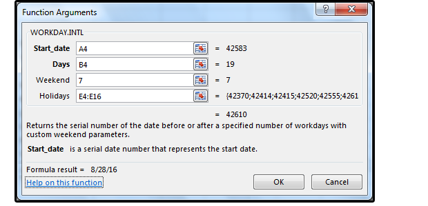 Excel Date and Time functions: WEEKNUM, ISOWEEKNUM, WORKDAY