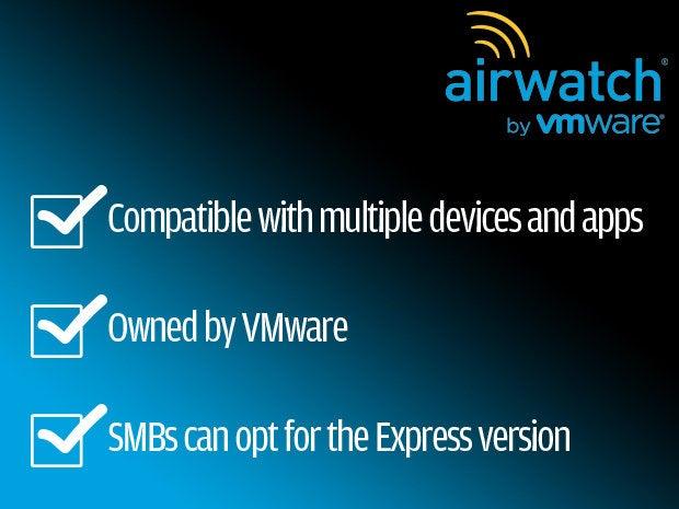 1 airwatch - EMM - mobile device management