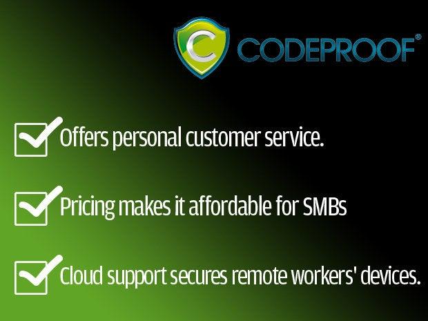 Codeproof website