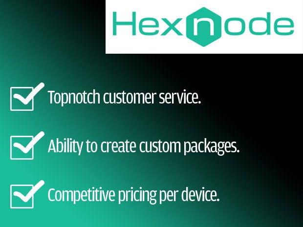 Hexnode - EMM - mobile device management
