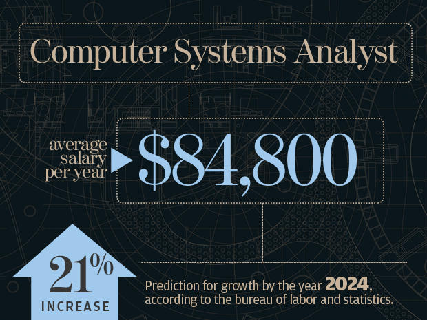 a focus on the career of a computer system analyst A systems analyst is an information technology (it) professional who specializes  in analyzing,  a computer systems analyst is an occupation in the field of  information technology a computer systems analyst works to solve problems  related to.