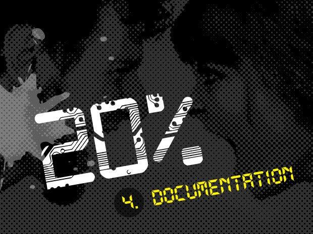 4. Documentation (19.8 percent)