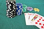 bet wager ante poker chips royal flush gamble gambling