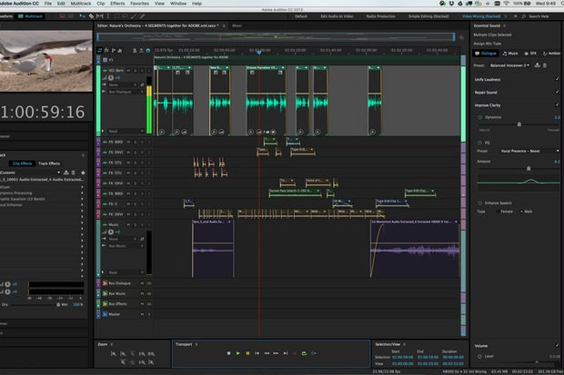 adobe audition cc 2015 2 review audio editing becomes more user friendly macworld. Black Bedroom Furniture Sets. Home Design Ideas
