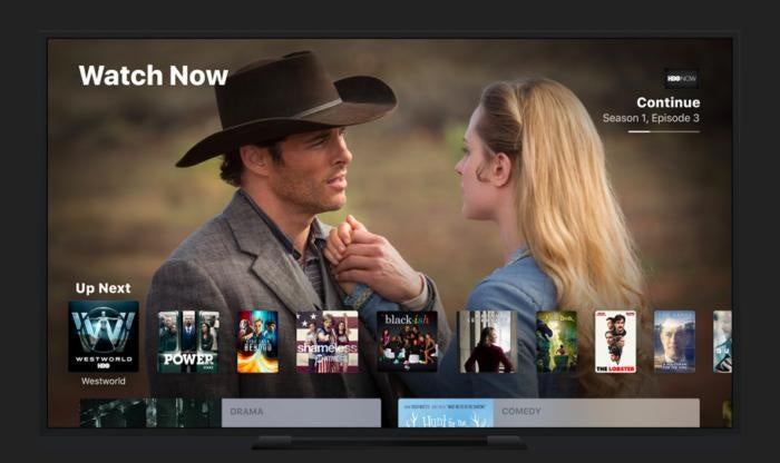 apple tv tvapp watch now