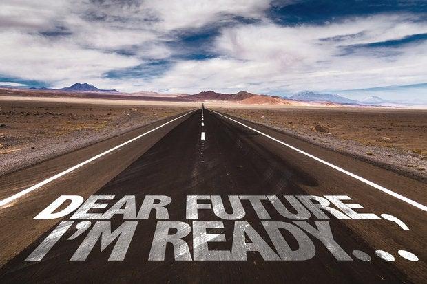 bigstock dear future im ready writt 100605536