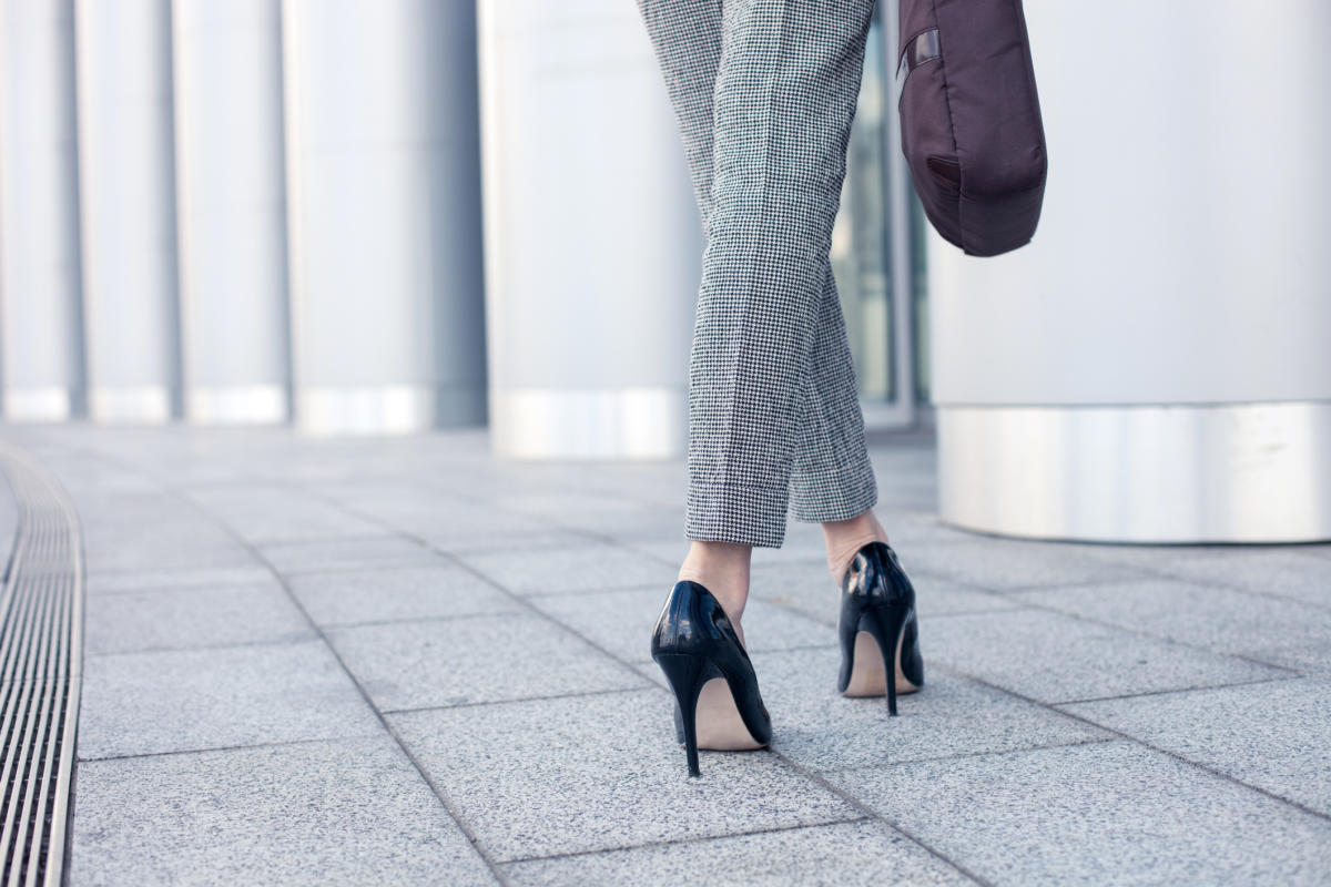 business woman heels ts