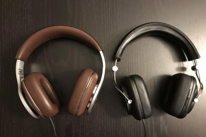 bw p9 signature and p7 wireless side by side