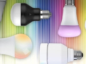 Color LED smart bulbs