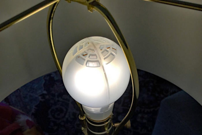 Cree Connected in a lamp